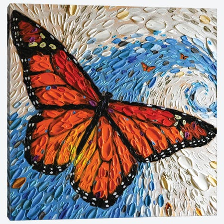 The Monarch Journey I Canvas Print #DTO45} by Dena Tollefson Canvas Print