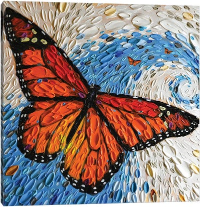The Monarch Journey I Canvas Art Print