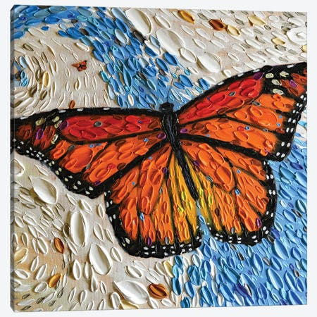 The Monarch Journey II  Canvas Print #DTO46} by Dena Tollefson Art Print