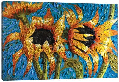 The Turquoise Dream  Canvas Art Print