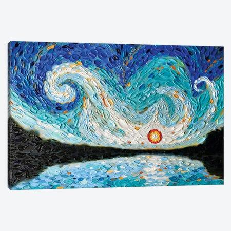 Bathsheba's Sky Canvas Print #DTO48} by Dena Tollefson Canvas Art