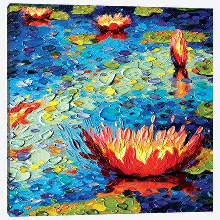 Lily Splendor Canvas Print #DTO50} by Dena Tollefson Canvas Art Print