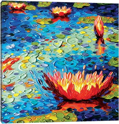 Lily Splendor Canvas Art Print