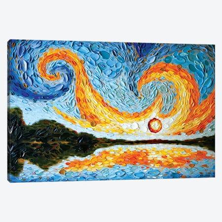 Moses's Sky Canvas Print #DTO51} by Dena Tollefson Canvas Art Print