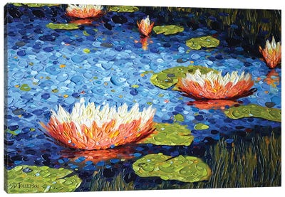 Jacqueline's Pond Canvas Art Print