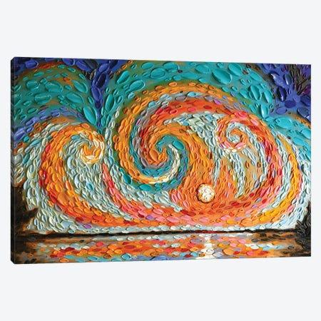 Eli's Sky  Canvas Print #DTO8} by Dena Tollefson Art Print
