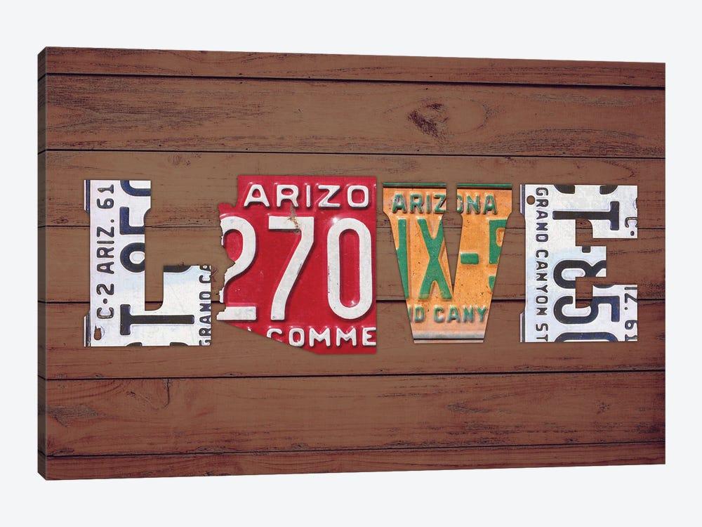 AZ State Love by Design Turnpike 1-piece Canvas Art