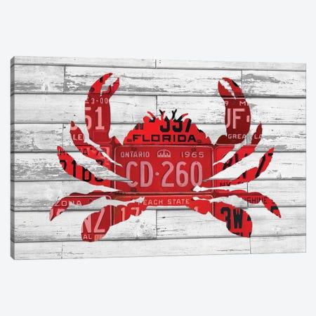 Crab Canvas Print #DTU166} by Design Turnpike Canvas Art