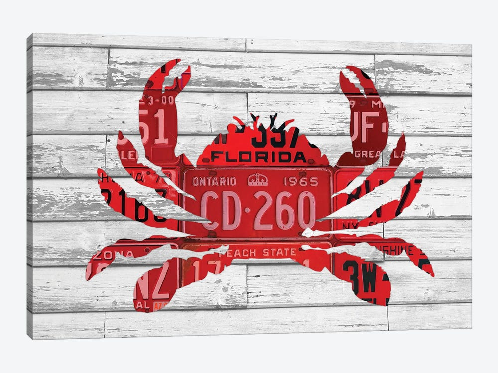 Crab by Design Turnpike 1-piece Canvas Artwork