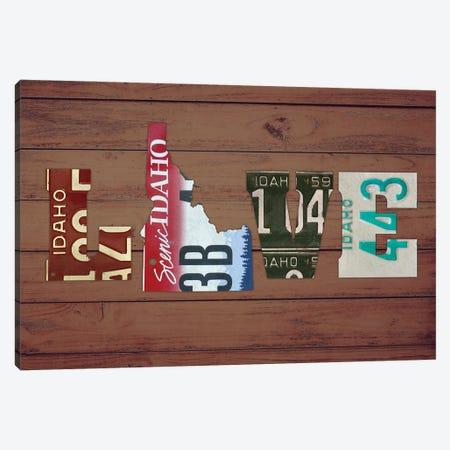 ID State Love Canvas Print #DTU178} by Design Turnpike Canvas Artwork
