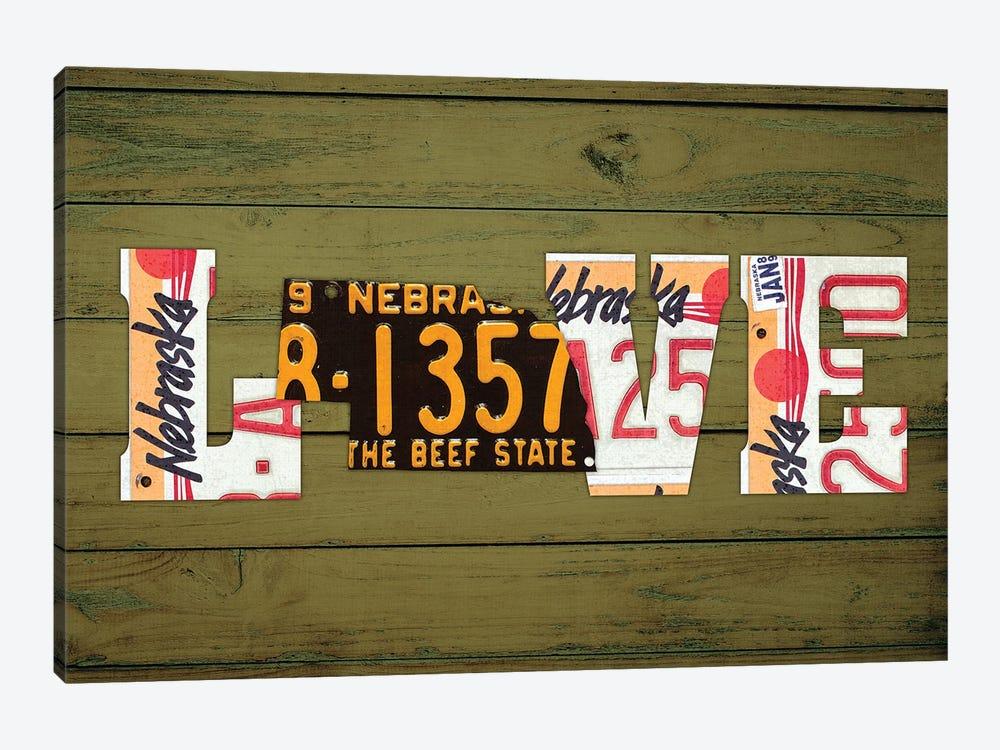 NE State Love by Design Turnpike 1-piece Canvas Print