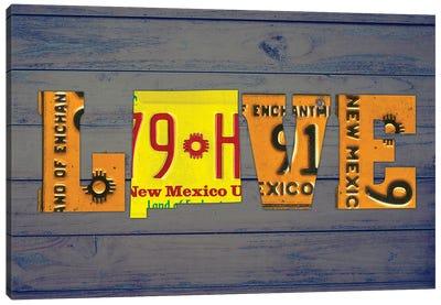 NM State Love Canvas Art Print