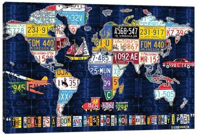 World Map 2016 Augustine Canvas Art Print