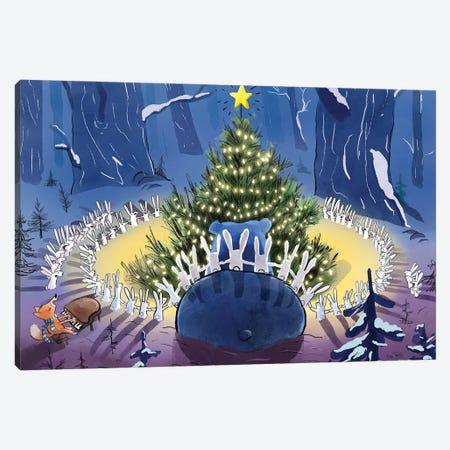 Christmas Day Canvas Print #DTV24} by Dan Tavis Canvas Art
