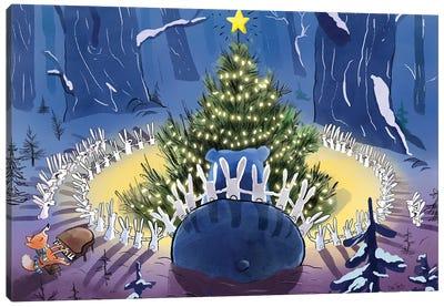 Christmas Day Canvas Art Print