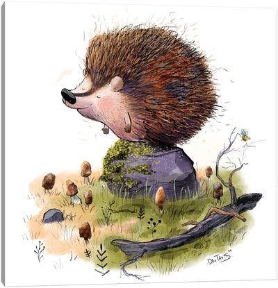 Henry The Hedgehog Canvas Art Print