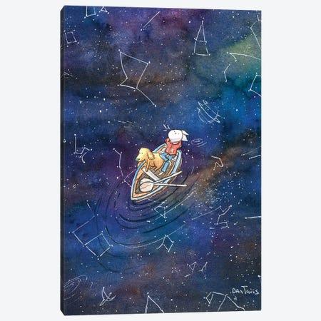 Galaxy Gazing Canvas Print #DTV35} by Dan Tavis Canvas Print