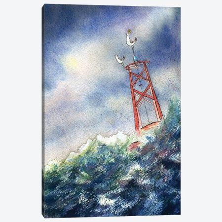 King Of The Sea Canvas Print #DTV38} by Dan Tavis Canvas Wall Art