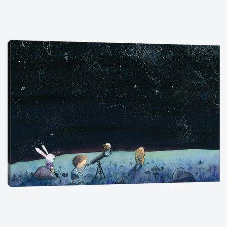 Stargazing Canvas Print #DTV49} by Dan Tavis Art Print