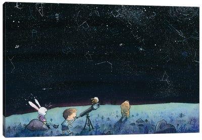 Stargazing Canvas Art Print