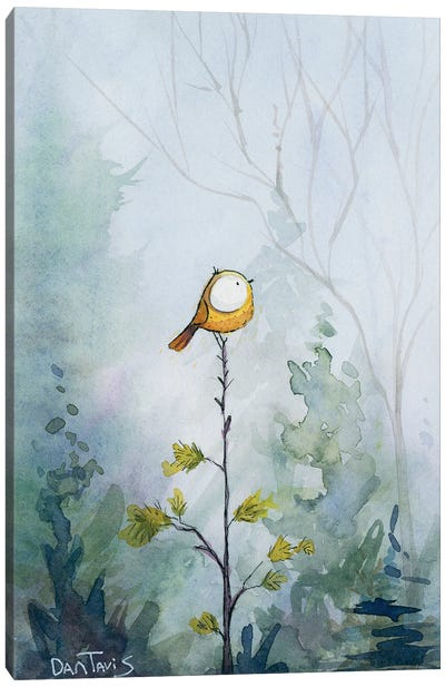 Winter Lookout Canvas Art Print