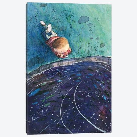 Boy And Stars Canvas Print #DTV53} by Dan Tavis Canvas Artwork