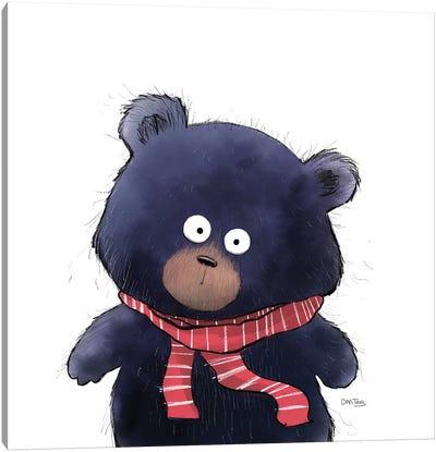 Bear Stare Canvas Art Print