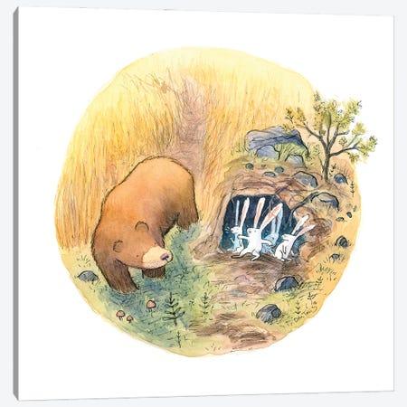 Bears House Canvas Print #DTV7} by Dan Tavis Canvas Art