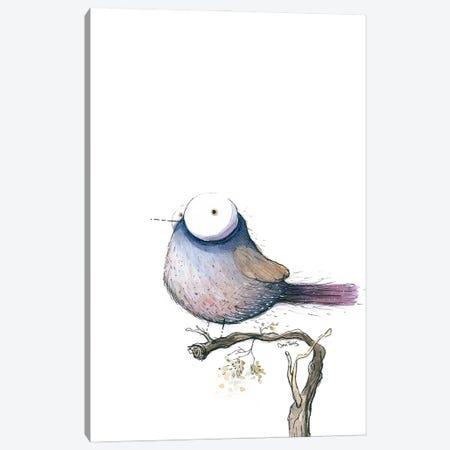 Big Eyed Bird Canvas Print #DTV8} by Dan Tavis Canvas Print