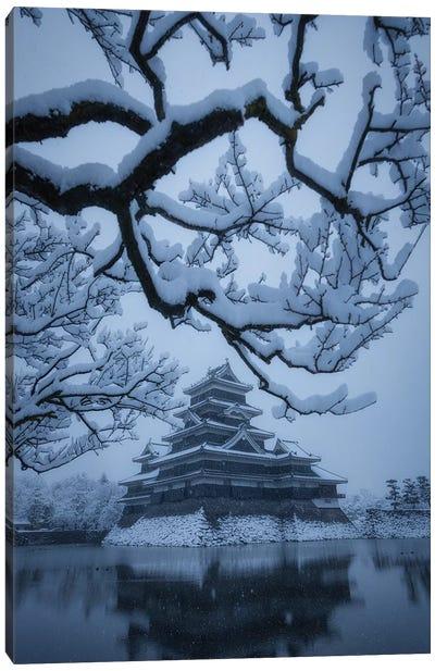 Matsumoto Castle X Canvas Art Print