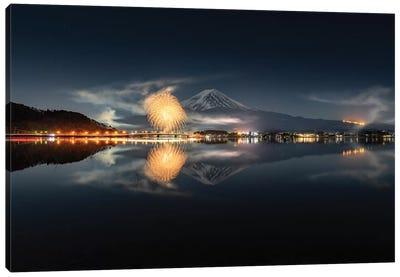 Mount Fuji XVIII Canvas Art Print