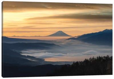 Mount Fuji XX Canvas Art Print