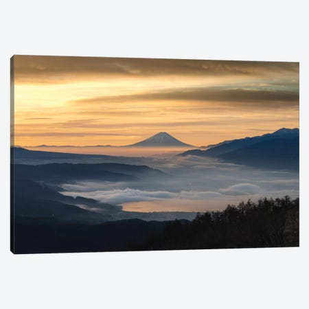 Mount Fuji XX Canvas Print #DUE118} by Daisuke Uematsu Canvas Art Print