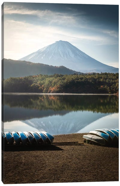 Mount Fuji XXI Canvas Art Print