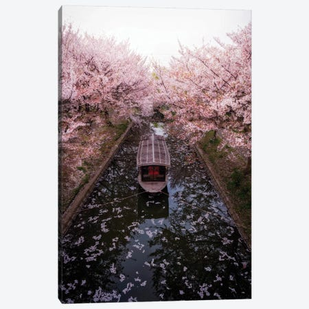 Spring In Japan XXIII Canvas Print #DUE123} by Daisuke Uematsu Canvas Artwork