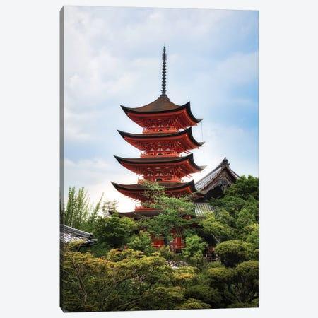 Summer In Japan XVI Canvas Print #DUE129} by Daisuke Uematsu Canvas Art