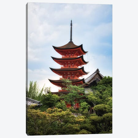 Summer In Japan XVI Canvas Print #DUE129} by Daisuke Uematsu Canvas Art