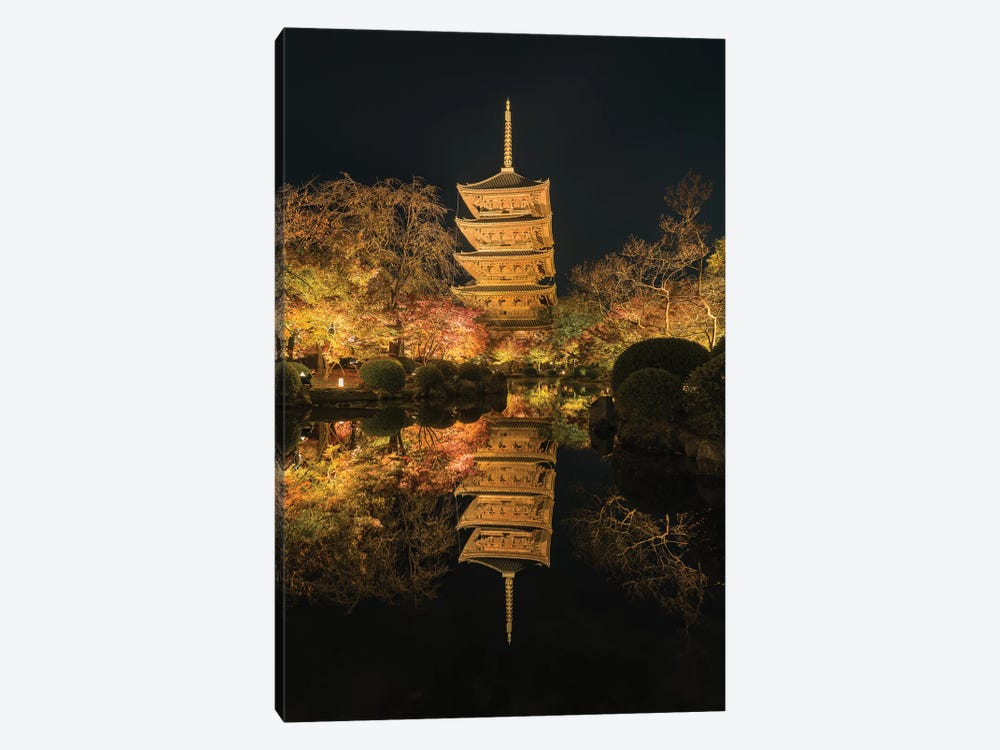 Autumn In Japan XII 1-piece Canvas Wall Art