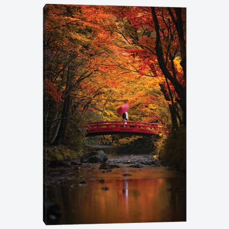Autumn In Japan XXXI Canvas Print #DUE133} by Daisuke Uematsu Canvas Print