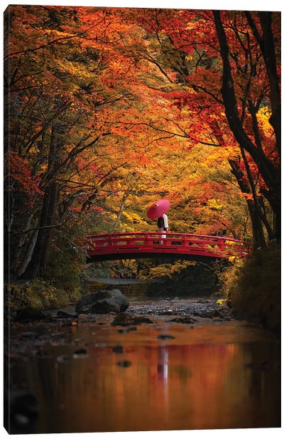 Autumn In Japan XXXI Canvas Art Print