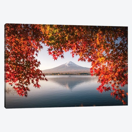 Autumn In Japan XXXV Canvas Print #DUE154} by Daisuke Uematsu Canvas Art