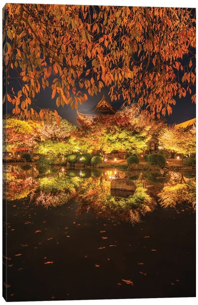 Autumn In Japan I Canvas Art Print