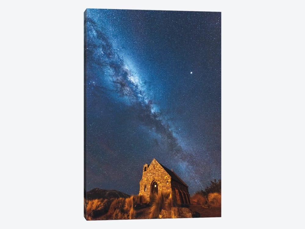 Church Of Tekapo II , New Zealand by Daisuke Uematsu 1-piece Art Print