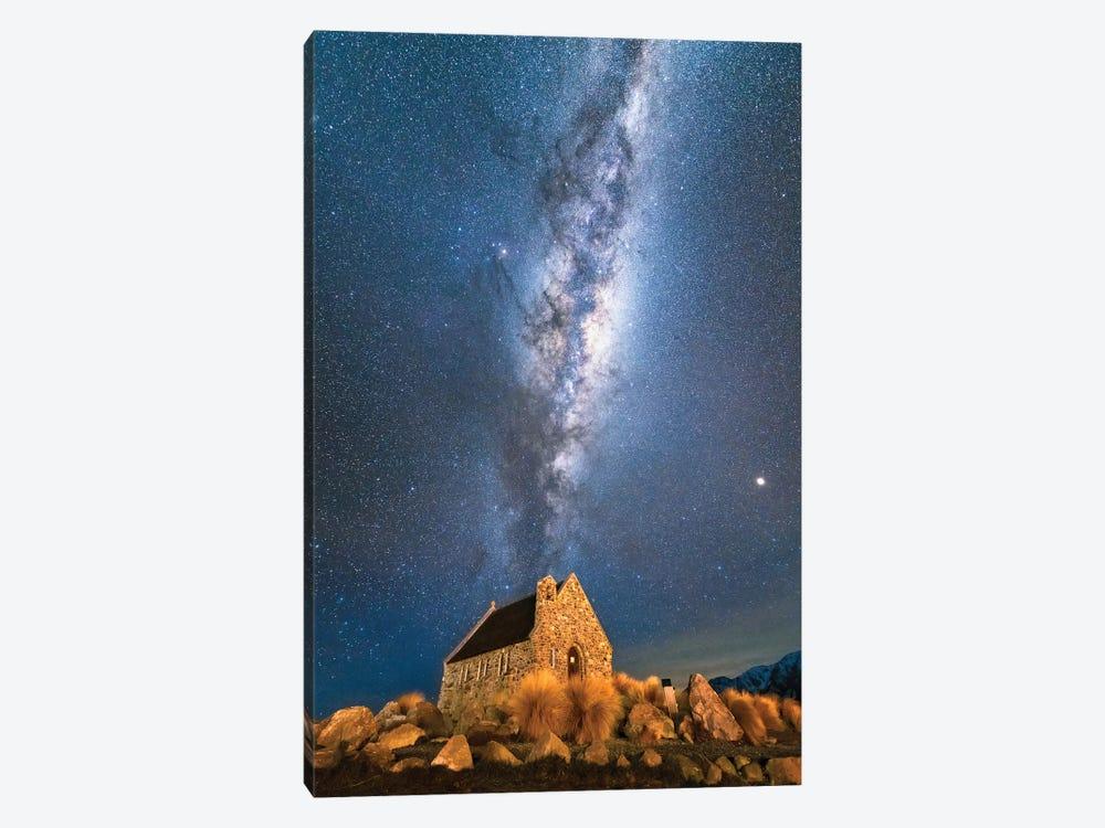 Church Of Tekapo III , New Zealand by Daisuke Uematsu 1-piece Canvas Art