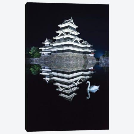 Matsumoto Castle I Canvas Print #DUE25} by Daisuke Uematsu Canvas Art