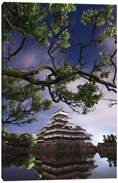Matsumoto Castle II Canvas Art Print