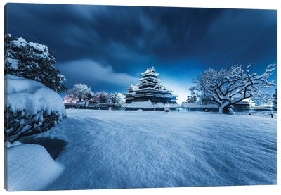 Matsumoto Castle V Canvas Art Print