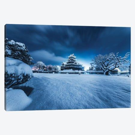 Matsumoto Castle V Canvas Print #DUE29} by Daisuke Uematsu Art Print