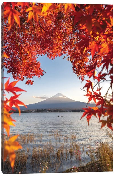 Autumn In Japan II Canvas Art Print