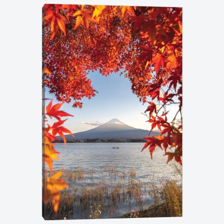 Autumn In Japan II Canvas Print #DUE2} by Daisuke Uematsu Canvas Wall Art